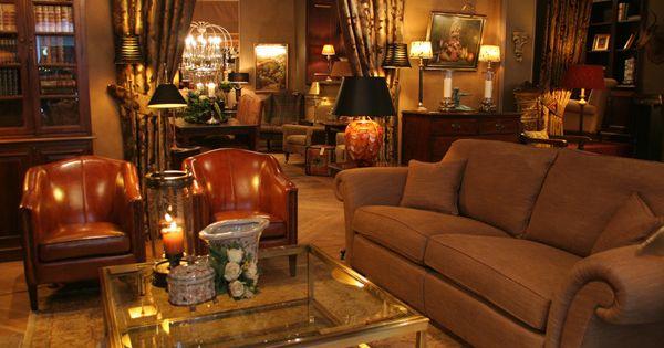 Klassieke meubelen classic interior english style for Interieur engels