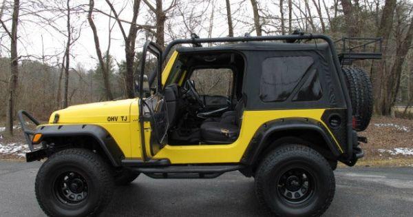 2001 Jeep Wrangler 4wd 2dr Sport Ohv Tj Am Fm Stereo
