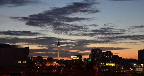 The View From Warschauer Brucke Alexander Platz