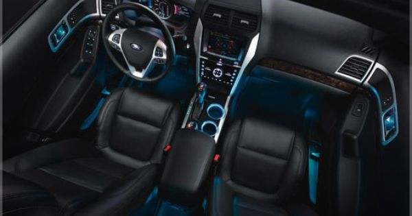 Interior Lighting Option With Images Ford Fusion 2014 Ford