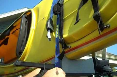 Thule Fold Down Kayak Stackers And Carriers For Car Roof Racks 830 Installation Video Youtube Kayak Roof Carrier Canoe Rack Car Roof Racks