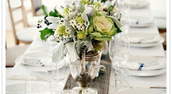 Centre de table mariage conseils pour parfaire la d co - Deco de table mariage theme nature ...