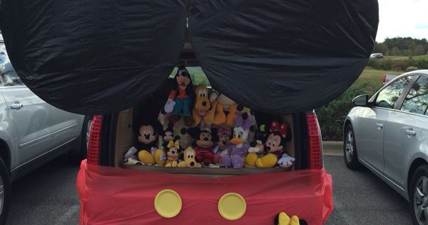Our Trunk Or Treat Car Mickey Mouse Clubhouse Kids