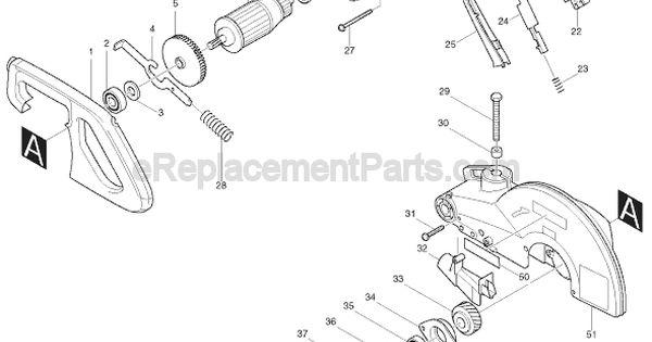 makita ls1040 parts list and diagram   ereplacementparts