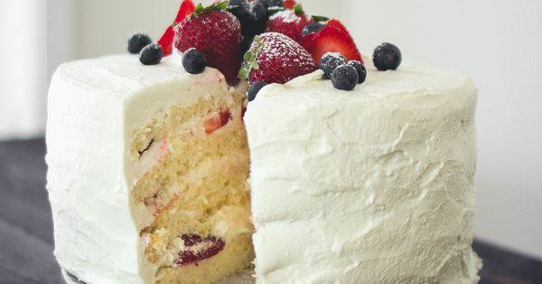 Recipe For The Best Korean Sponge Saeng Cream Cake By