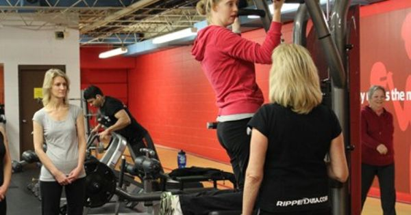 Women On Weights Session With Linda G Ymca Weight Women