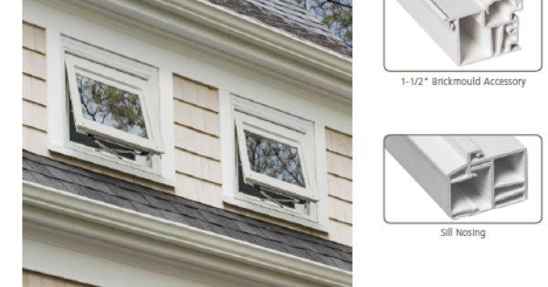 Jeld Wen Retro Brickmould Vinyl Windows Help Make Remodels And Renovations Cleaner And Easier Window Styles Window Design Window Vinyl