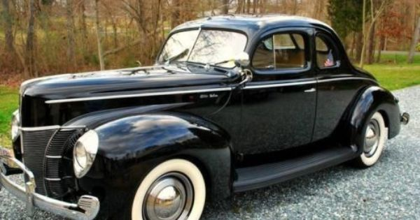 1940 Ford Deluxe Business Coupe For Sale Nc 39 500 1940 Ford Ford Classic Cars