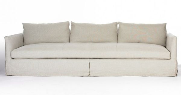 love the simple lines seating cushion is one piece linen rh bagoesteak com