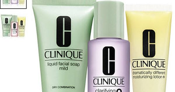 Clinique Choice Of 3 Pc Free Gift With Clinique 3 Step Product Purchase At Macy S Details At Makeupbonuses C Facial Soap Clinique Skincare Clinique Oily Skin