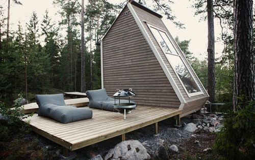 Micro Cabin in Finland \\\ A DIY project with a tight budget