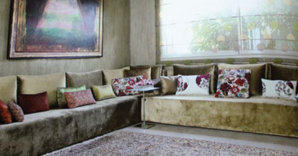 The Salon Marocain Home Pinterest Salon Marocain Salons And Living Rooms