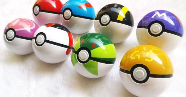Pokemon Poke Ball Great Ball Ultra Ball Master Ball Love Ball Timer Ball Gs Ball Pokemon Merchandise Pokemon My Pokemon