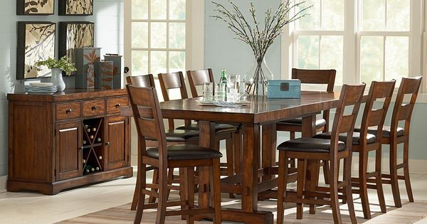 Ziva Counter Height Dining Set 10 pc Dining sets Sam  : 68e3a256c871d72cdea67812c58ec510 from www.pinterest.com size 600 x 315 jpeg 45kB