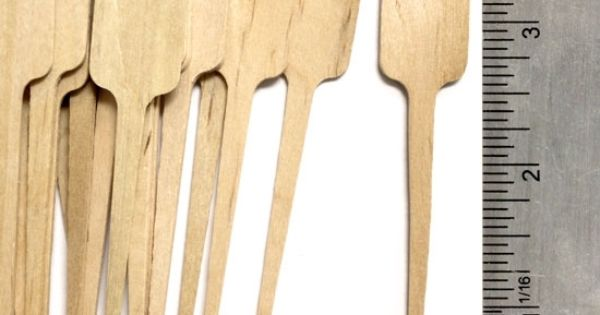 Craftysticks Com Wooden Paddle Skewers Http Www