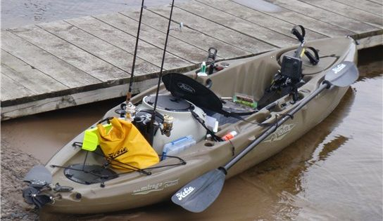 The hobie outback is the bomb for fishing fishing for Sodium fishing gear