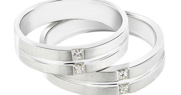 Perhiasan Emas Putih Satu Set - Aksesoris Kita