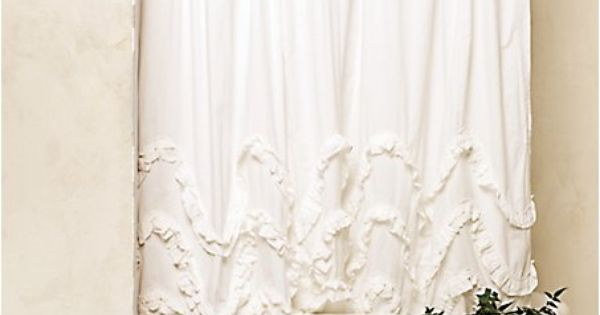 Adventures in dressmaking diy waves of ruffles shower curtain tutorial bathing beauties - Waves of ruffles shower curtain ...