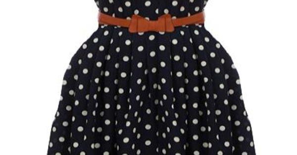Retro Dress via Rickety Rack >> So much fun, love the bow