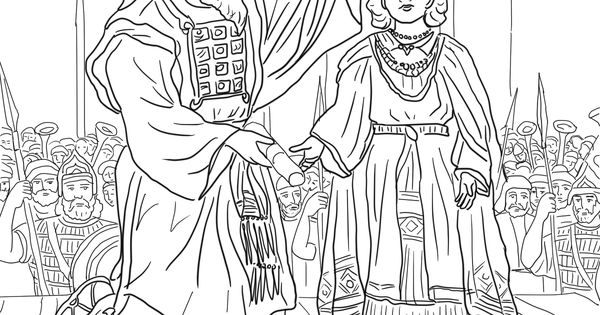 king jehu of israel coloring pages | King Joash Crowned coloring page | SuperColoring.com ...