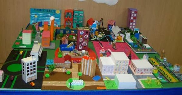 Maquetas de barrios para ni os buscar con google el for A que zona escolar pertenece mi escuela