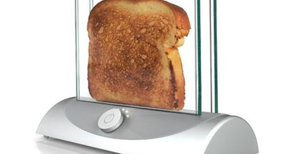 Clear toaster- Such a great idea