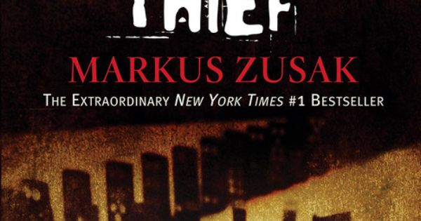 The Book Thief - Markus Zusak Great Book Club choice