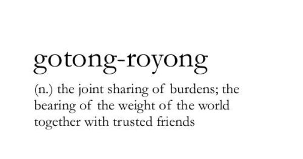 Gotong Royong Weird Words Uncommon Words Unusual Words