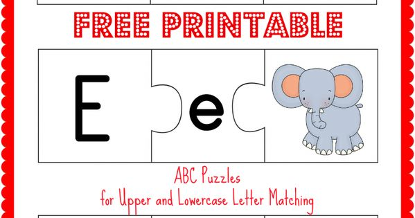 printable and lowercase letter matching band free printable abc puzzles and lowercase letter 633