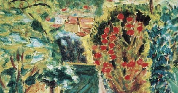 Pierre bonnard 1943 vers la porte de la villa le bosquet for Les jardins de la villa porte maillot