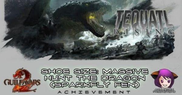 Boss Week Shoe Size Massive Hunt The Dragon Sparkfly Fen Guild Wars Guild Wars 2 Dragon