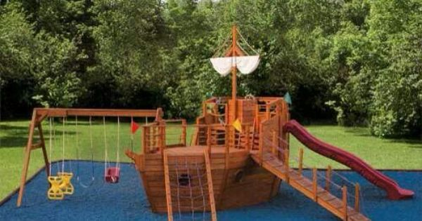 Pirate Ship Playscape Places Pinterest Pirate Ships
