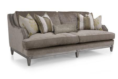 Decor Rest 6251 Series Sofa W Nailhead Trim Gardiners Furniture Sofa Baltimore Towson