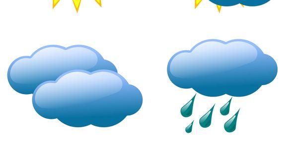 Looking For Alaska Symbols: Free Weather Symbol Vectors