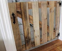 13 Diy Dog Gate Ideas Diy Dog Gate Wood Pallets Indoor Gates