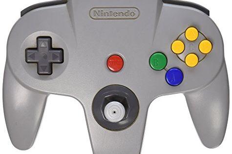 Nintendo 64 Controller Original Grey Read More At The Image Link Nintendo N64 Nintendo 64 Nintendo Controller