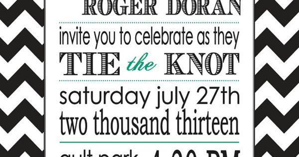 Trendy DIY Wedding invitations - with Greek symbol around