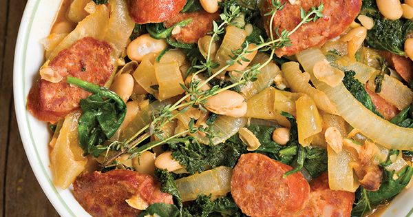 ... Kale (vegetarian) | #Foodie | Pinterest | White Beans, Kale and Beans