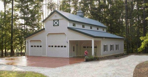 Metal Barns With Living Quarters Metal Building Homes
