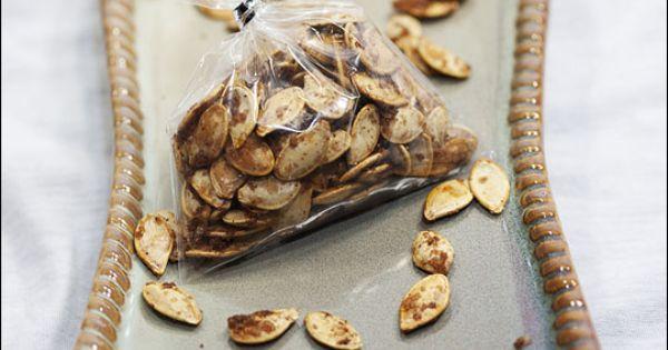 Sweet n' Salty Pumpkin Seeds | Food | Pinterest | Seeds, Pumpkins and ...