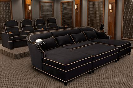 Home Theater Rooms, Home Theater Couch Living Room Furniture