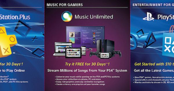 Sony To Gift Early Ps4 Owners 10 Ps Store Credit 30 Day Plus And Music Trials Http Www Aivanet Com 2013 11 Sony To Gift Earl Ps Store Buy Ps4 Play Online
