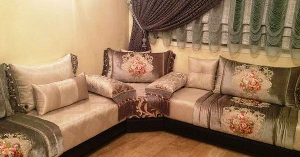 salon marocain salons and google on pinterest. Black Bedroom Furniture Sets. Home Design Ideas