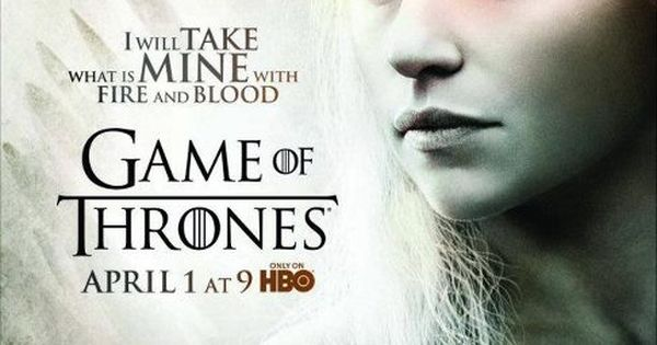 I will take what is mine with fire and blood - Daenerys