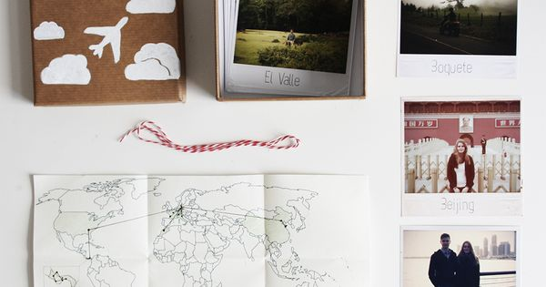 diy geschenk f r weltenbummler die polaroid reise kiste geschenkideen valentinstag polaroid. Black Bedroom Furniture Sets. Home Design Ideas