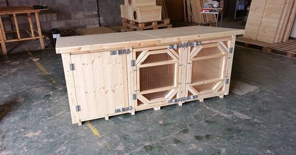 Pin On Single Rabbit Hutches Handcrafted By Us Boyles Pet Housing