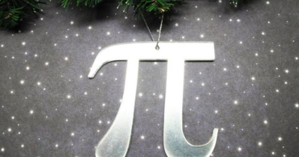 Pi Christmas Tree Ornament Math Symbol Pie Geek Science Decoration Cscharms Seasonal On Art Nerdy Christmas Tree Nerdy Christmas Nerdy Christmas Ornaments
