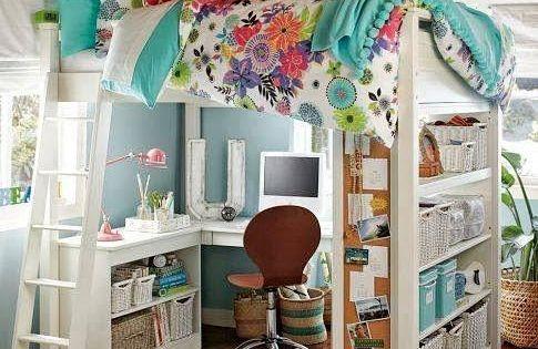 C mo organizar habitaciones infantiles peque as patio - Habitaciones infantiles pequenas ...