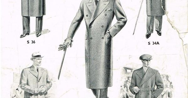 Latest London Styles for Autumn & Winter (1935 6). The