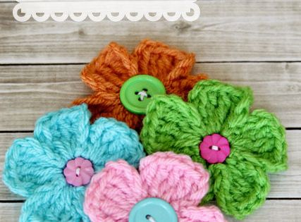 Quick Crochet Flower Pattern : quick and easy crochet daisy pattern Crochet: Flowers ...